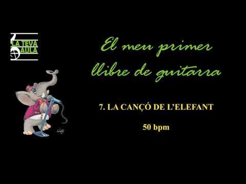 7. LA CANÇÓ DE L'ELEFANT. 50 bpm.