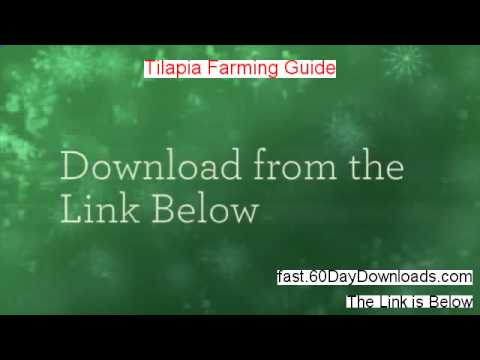 Tilapia Farming Guide review video -legit