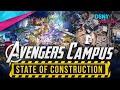 Disneyland's State of Construction on Marvel's AVENGERS CAMPUS - Disney News - 6/11/20