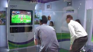 Kinect Sports 2 Football Gameplay Demo at E3 2011 - The Game Collection