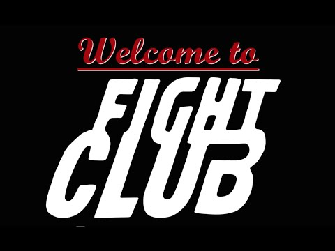 The 8 Rules of Fight Club - Kinetic Typography