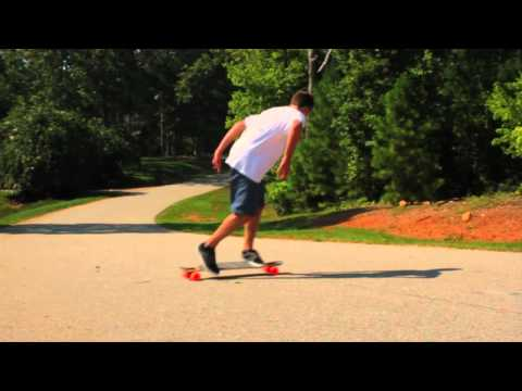 SLOW MOTION longboarding