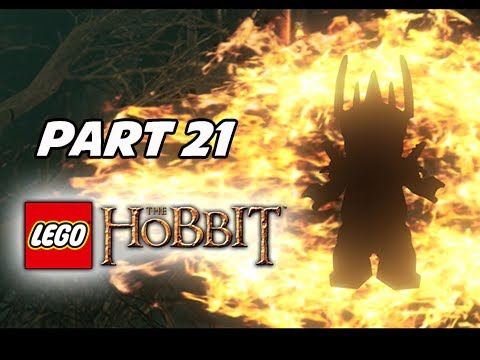 LEGO: The Hobbit Walkthrough Part 21 - Sauron (PS4 1080p Gameplay...