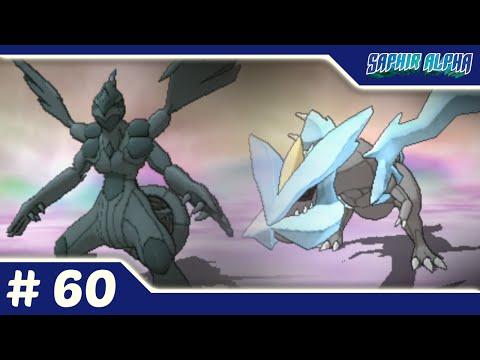 Pokémon Saphir Alpha #60 - Captures de Zekrom & Kyurem