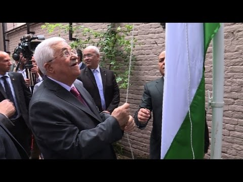 Mahmud Abbas inaugurates new Palestinian mission in Brussels
