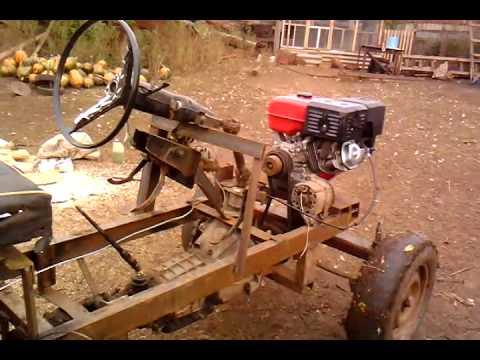 Как сделать мини трактор видео