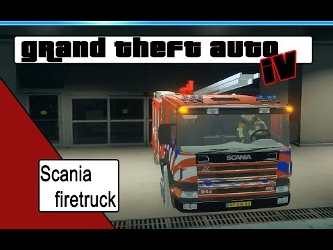 GTA 4 Scania dutch firetruck