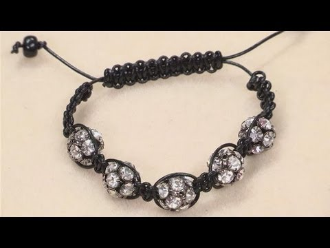 Watch How To Make A Shamballa Style Bracelet