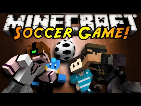 Minecraft Mini-Game : SOCCER!