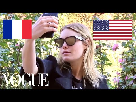 Camille Rowe on French vs. American Girl Style | Vogue