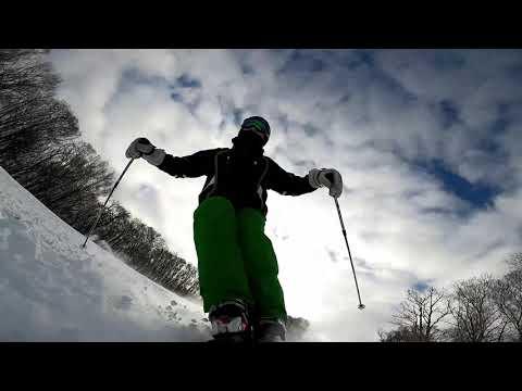 スキーで転倒・・・?