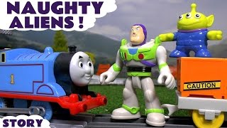 Disney Pixar Toy Story Train with Naughty Aliens Thomas and Friends & Paw Patrol  Unboxing Review