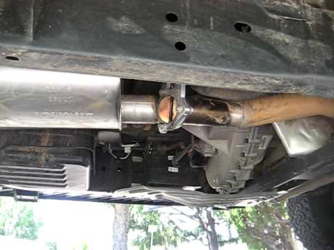 Ford Raptor Electric Exhaust Cut Out Youtube