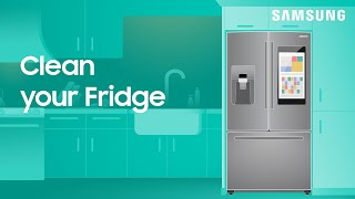 01. How to deep clean your Samsung refrigerator | Samsung US
