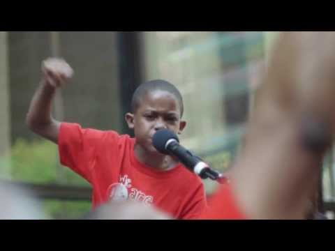 Nine Year Old Asean Johnson Amazes And Inspires Crowd, Tells Chicago Mayor: Stop School Closings video