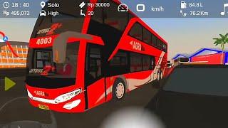 Agra Mas Trip To Solo - Android Games IDBS Bus Simulator V4.0