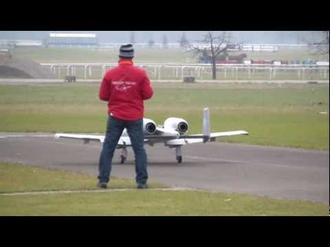 RC Scale Warthog A-10 Remote Control Turbine Jet With 20KG Thrust
