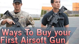 Ways to Buy Your First Airsoft Gun - How Would You Build it? |  Airsoft GI