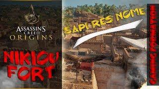 "Assassins Creed New Game ""Assassins Creed Origins"" Side Activities- NIKIOU FORT | Ubisoft Games 2017"
