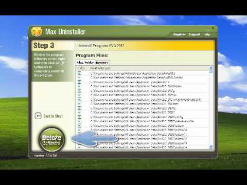 How to Uninstall AVG Antivirus Free Edition 2012.mp4
