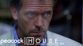 House Cures A Paralysed Man Without Knowing | House M.D.