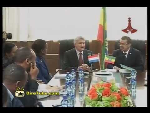 Ethiopia Health Minister and Netherlands sing 43MLN USD agreement