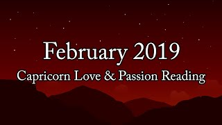Capricorn Love & Passion Reading February 2019* Extreme Passion Becomes Dangerous? Look Deeper!
