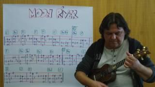 Fingerstyle Ukulele Lesson #82: MOON RIVER (Henry Mancini)