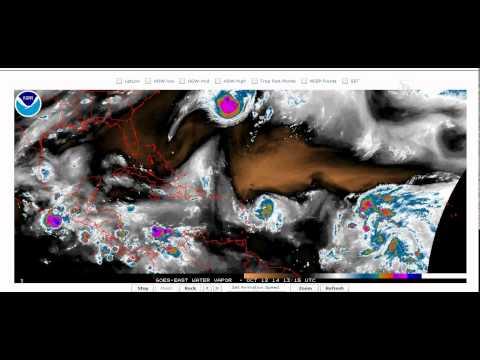 12 de octubre de 2014. Tormenta Tropical Gonzalo amenaza a Puerto Rico.