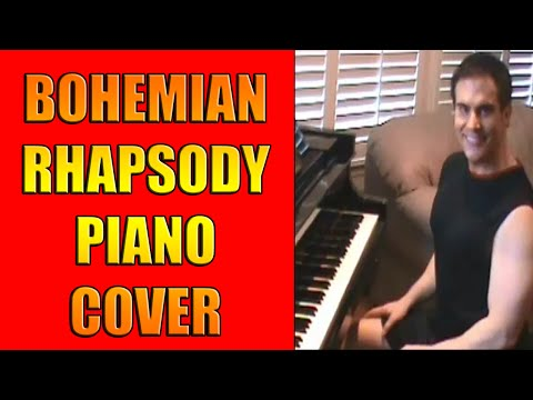 Piano Cover of Queen's Bohemian Rhapsody ~ Don Puryear