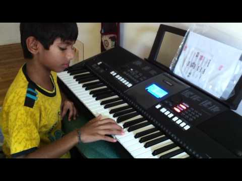 Rajni Padayappa Suthi Suthi Keyboard Ashwin video