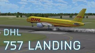 FSX Boeing 757-200F Landing at Copenhagen | DHL