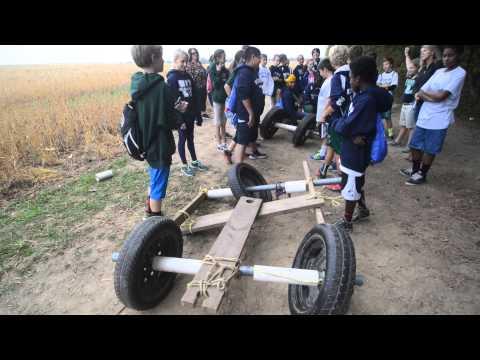 Weddington Middle School Field Trip to Xtreeme Challenge in Monroe NC