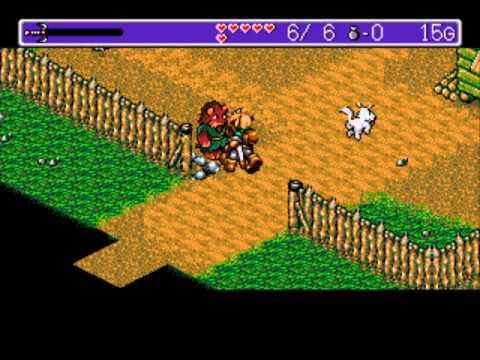 Let's Probably Play Landstalker - The Treasures of King Nole 01