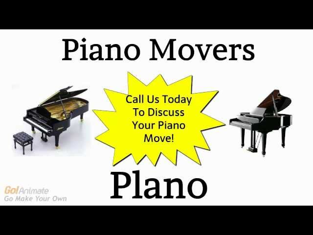 Piano Movers Plano TX   Call 972-767-9998 Affordable Piano Moving Service