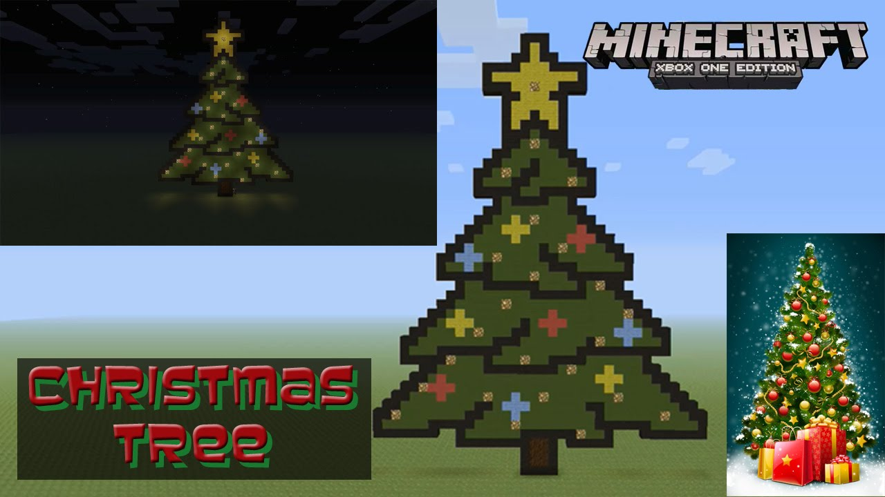 Christmas Pixel Art Minecraft Minecraft Pixel Art Tutorial