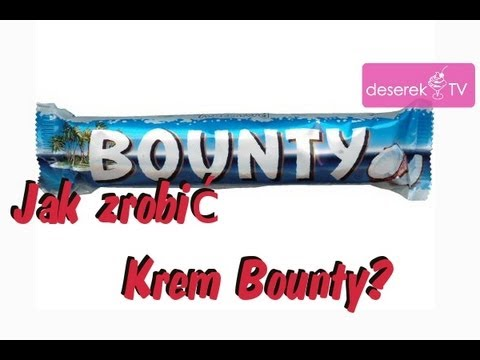 Jak zrobi Krem Bounty - Deserek.TV