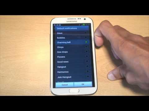 Samsung Galaxy Note 2 Tones / Ringtones GT-N7100