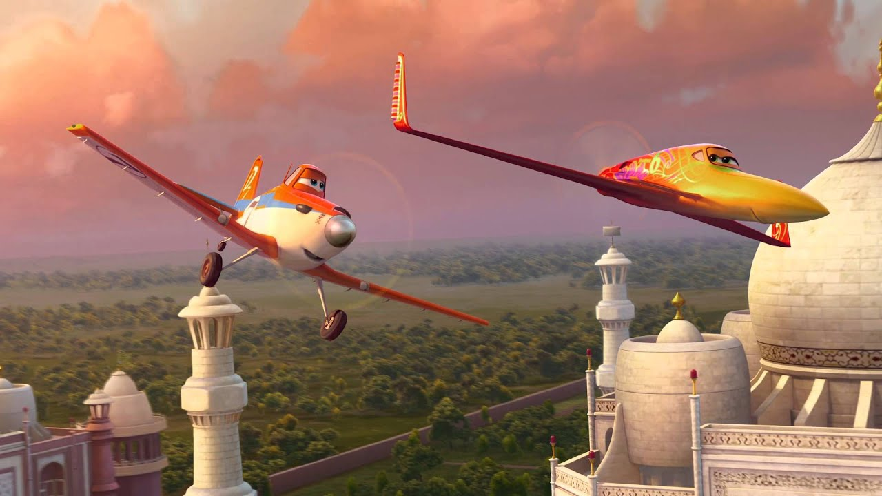 Aviones: Nuevo Avance - YouTube Planes Movie Dusty And Ishani