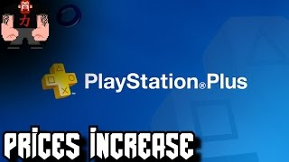 Playstation Plus goes from $49.99 to $59.99 OH MY GAWD