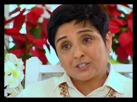 Rendezvous with Simi Garewal - Kiran Bedi and Saina Bedi