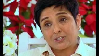 Rendezvous with Simi Garewal - Kiran Bedi and Saina Bedi (2003)