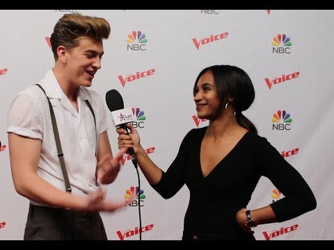 Noah Mac of The Voice On TRANSFORMING From Shy To ROCKSTAR On Stage & His Duet W/ Chloe Kohanski