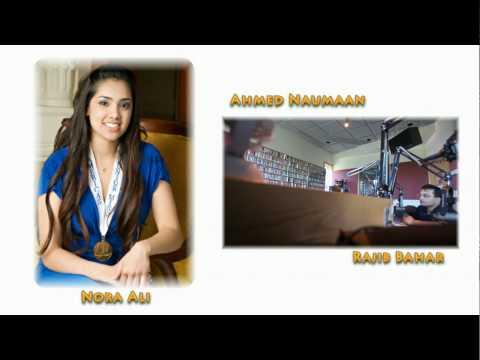 Rajib Interviews Nora Ali - Distinguished Young Women - Sangam - Kfai video