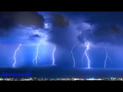 Nature Heavy Thunder Rainstorm Sounds (No Added Music)