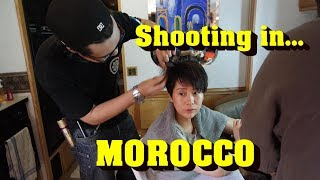 Chinese film shoot in Morocco // Tournage d'un film chinois au Maroc #filmcrewlife