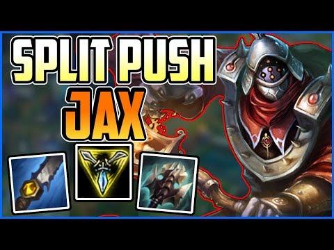 Jungle Jax How to Cary & Split Push - Jax Jungle Commentary Guide - League of Legends