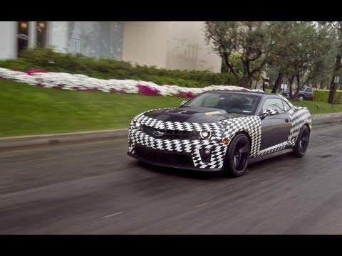 2012 Chevrolet Camaro ZL1 Prototype In Action With Mark Reuss