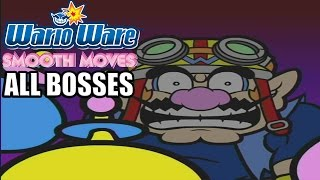 WarioWare: Smooth Moves All Bosses