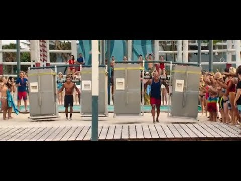 baywatch the rock vs zac efron